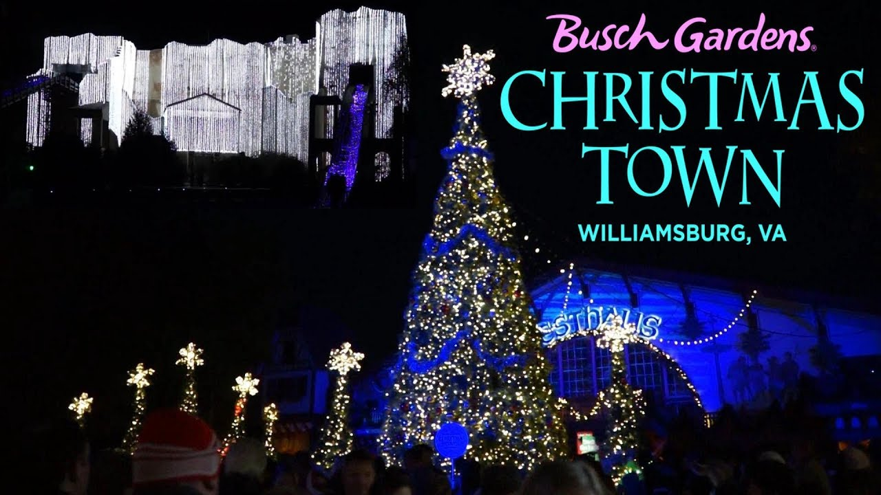 Williamsburg Christmas Lights 2017