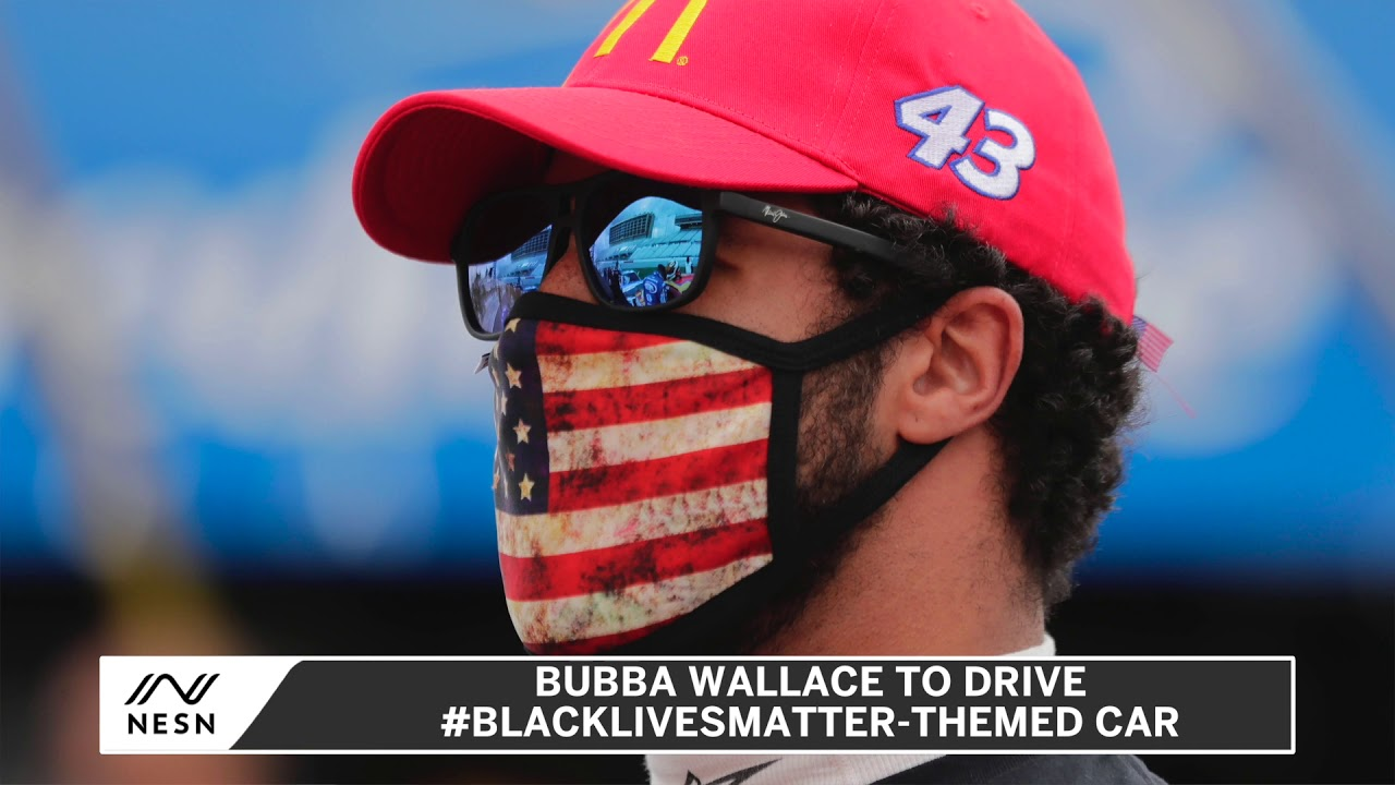 Bubba Wallace Unveils #BlackLivesMatter Themed Car