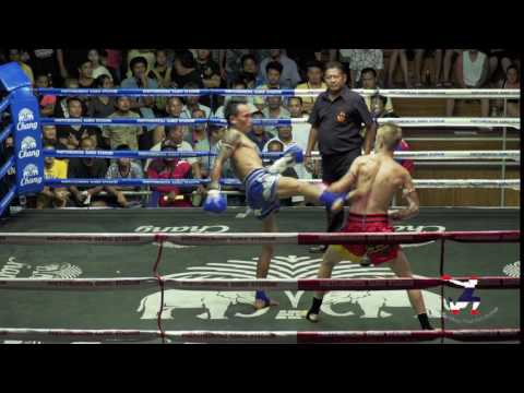 4e combat de SAM au Chaweng Boxing Stadium, Koh Samui