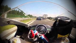 FERRARI CALIFORNIA vs YAMAHA R1 / DANGEROUS AND CRAZY / NERO - PROMISES