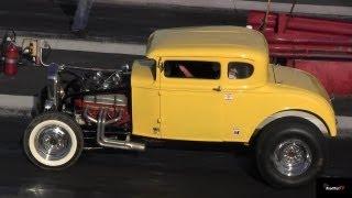 1932 Ford Coupe Nostalgic Racing - American Graffiti John Milner?  Dragway 42 1/4 mile - RoadTest®