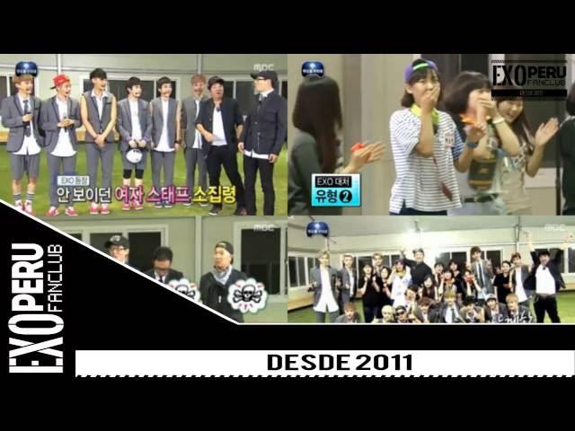 [SUB ESP] EXO @ Infinite Challenge - GROWL era