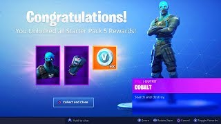 The New STARTER PACK in Fortnite..