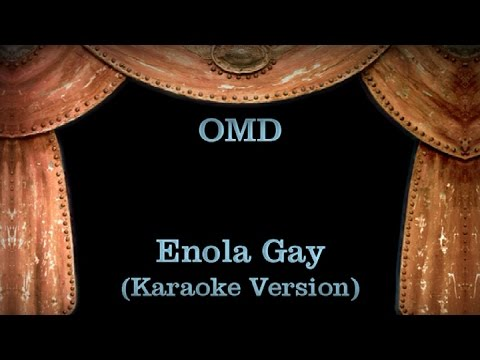 omd enola gaye lyrics