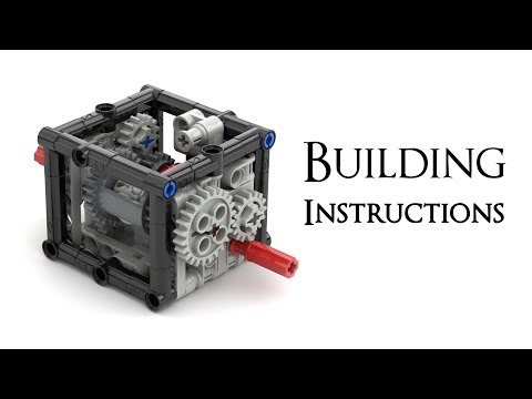 lego technic gearbox instructions