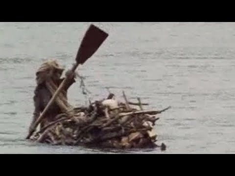 Michael Palin at the source of the River Nile - BBC