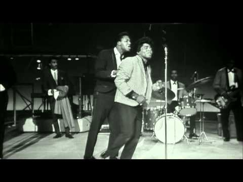 James Brown performs