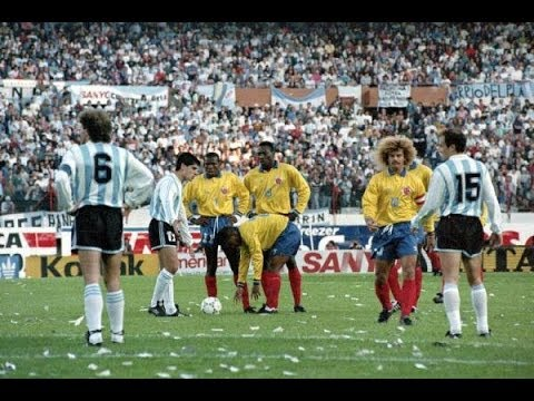 Eliminatorias USA 94 :: Argentina 0x5 Colombia :: Narración Argentina :: 05/09/1993 :: COMPLETO