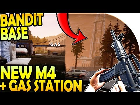 NEW M4 RIFLE - BANDIT BASE + GAS STATION LOOTING ( Mist Survival Gameplay Part 6 )