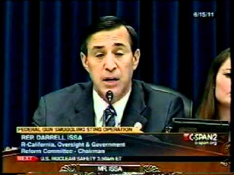 "Darrell Issa - ""Sir, You Should be Ashamed of Yourself!!"""