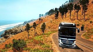 Euro Truck Simulator 2 | Türkiye Haritası | Efsane Dağlık Yol | Mersin | Bölüm 6