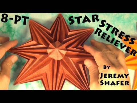 8-Pointed Star Stress Reliever (with background music)