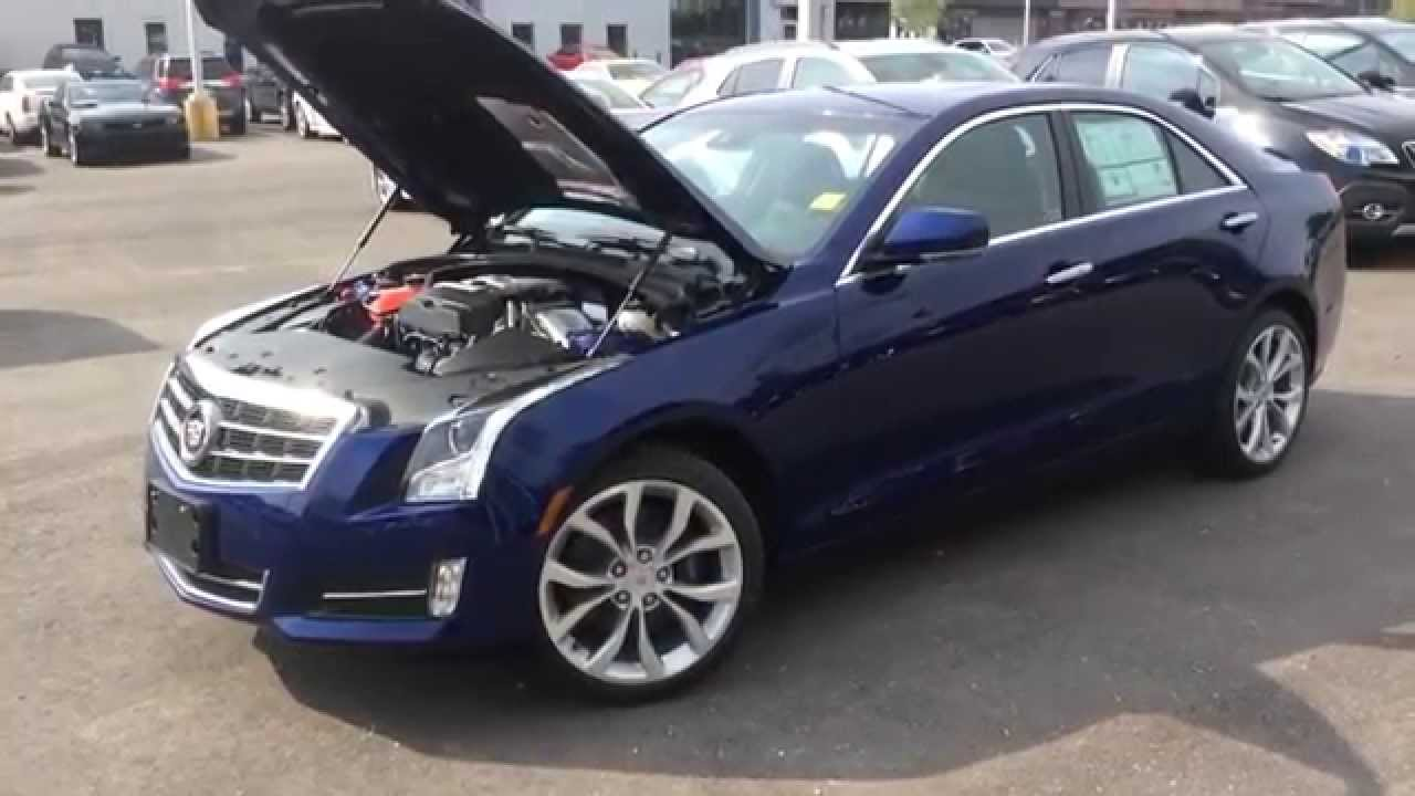 2014 cadillac ats 2 0l turbo performance awd 140854 youtube. Black Bedroom Furniture Sets. Home Design Ideas