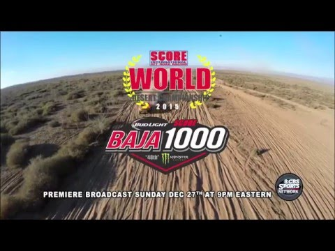 2015 Bud Light SCORE Baja 1000 on CBS Sports Network
