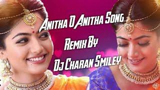 ANITHA O ANITHA LOVE SAD SONG RE-EDIT BY DJ CHARAN SMILEY  LOVE SONGS  TELUGU SONGS  DJ TELUGU SONGS