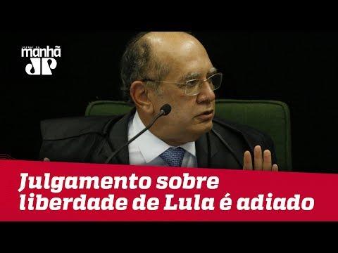 Gilmar Mendes pede vista e adia julgamento sobre liberdade de Lula