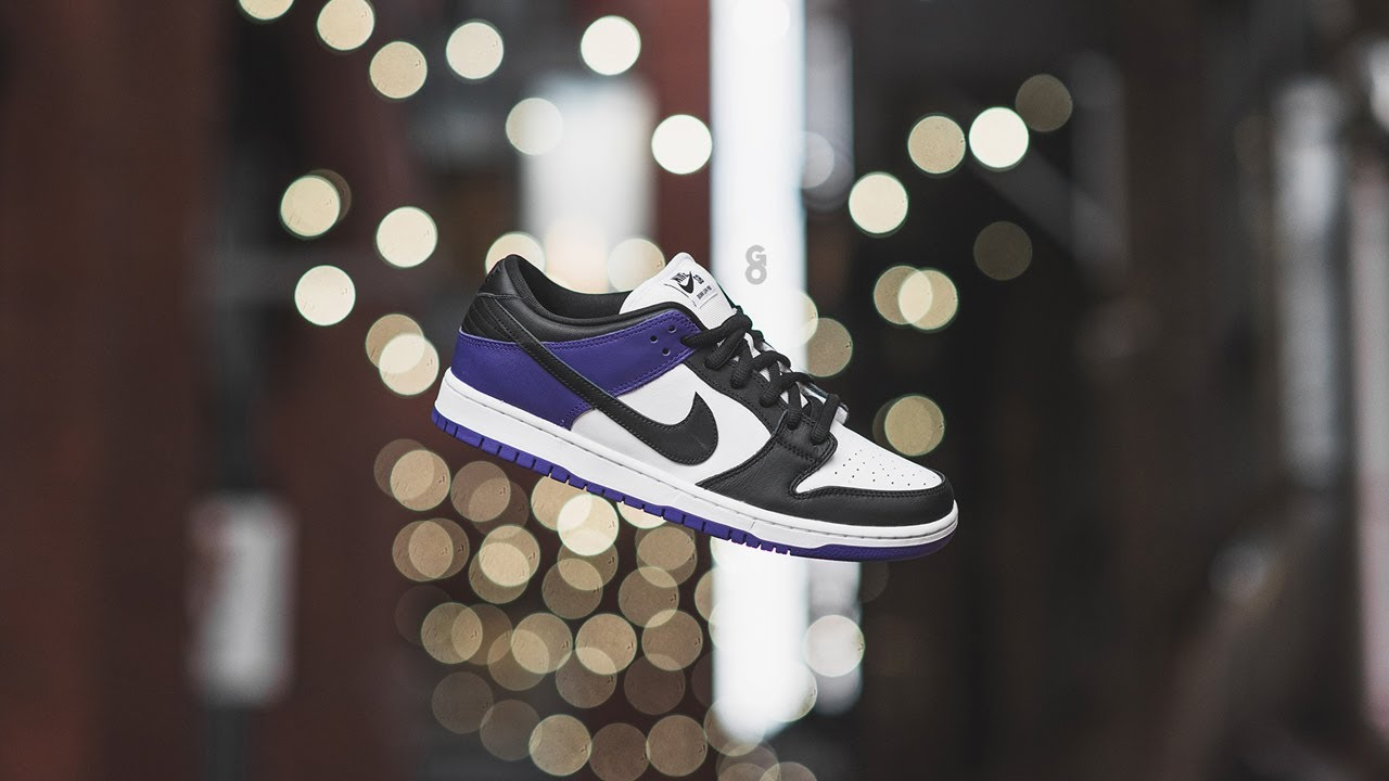 """Nike SB Dunk Low Pro """"Court Purple"""": Review & On-Feet - YouTube"""