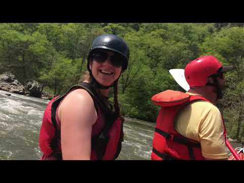 French Broad River cleanup w NOC, Riverlink, Valley Waste, Sierra Nevada