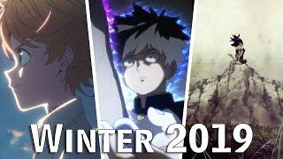 Winter 2019 Anime Season Hype!