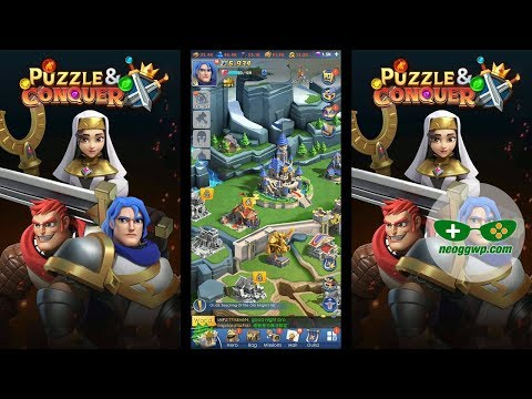 Puzzle and Conquer (Alpha Test) (Android iOS APK) - SLG & Puzzle Gameplay