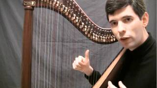 Your first harp lesson - adding the rest of the fingers and the thumb