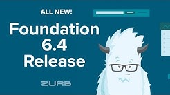 🚨  !!RELEASE ALERT!! 🚨  Foundation 6.4 (XY Grid, New JavaScript, Prototyping, and So Much More!)