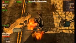 Dead Frontier : Nine Cutter X vs Flaming Black Titan