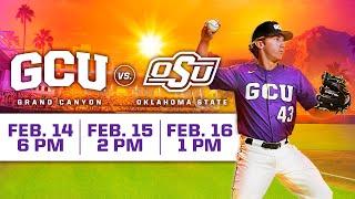 GCU Baseball vs Oklahoma State February 14, 2020