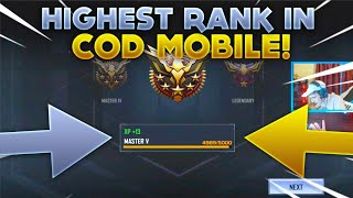 Call Of Duty: Mobile - THE MATCH I GOT LEGENDARY (Highest Rank in the game) Beta Gameplay