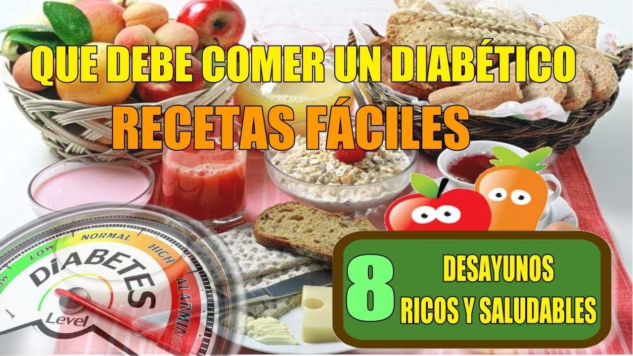 ¿Qué puede comer una persona con diabetes tipo 2 en el desayuno?