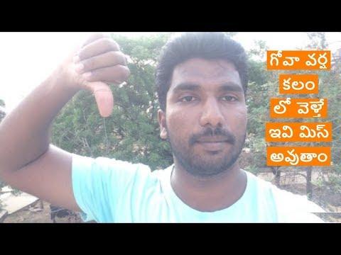 Goa quick update no water activities in mansoon