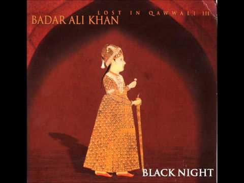 Badar Ali Khan- Black Night
