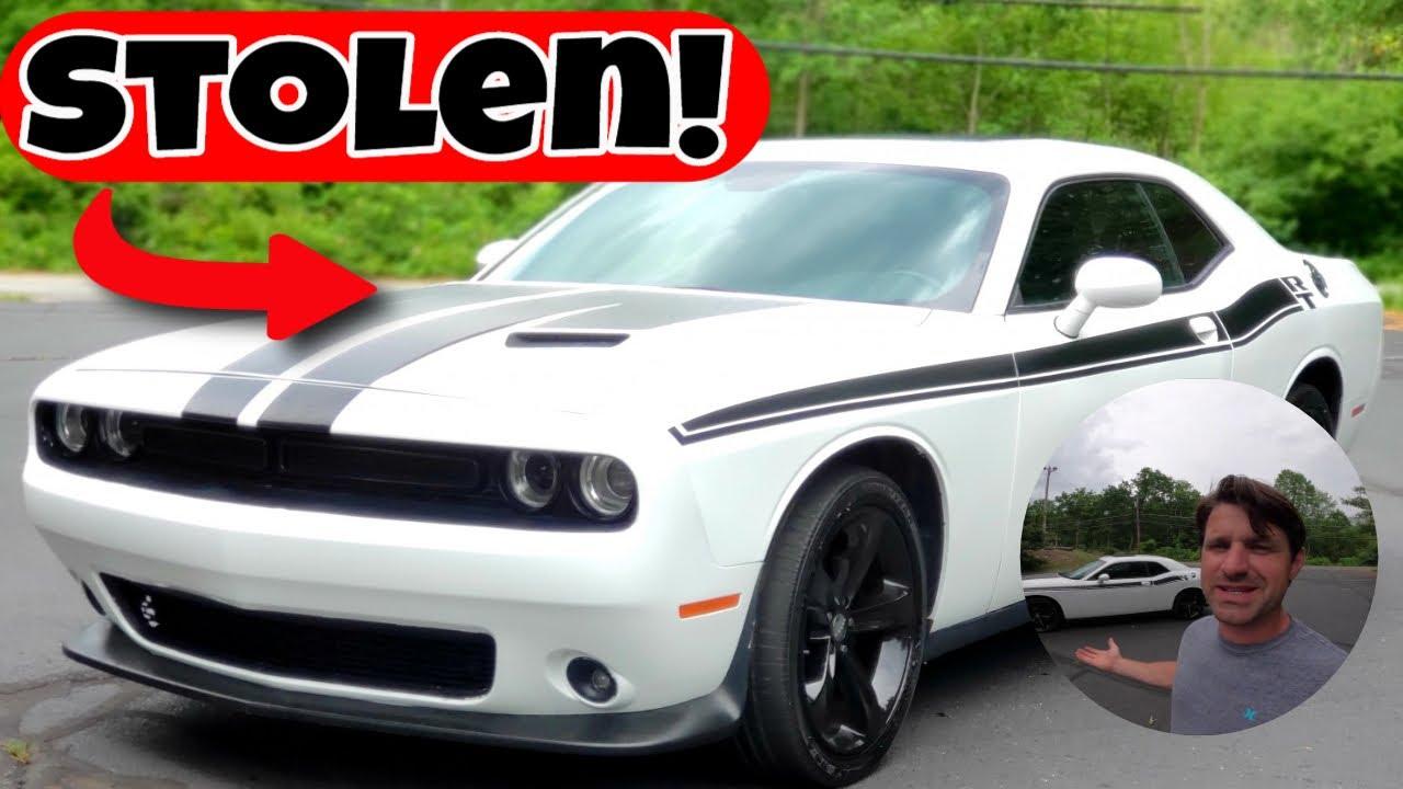 I bought a Stolen Dodge Challenger - Flying Wheels