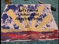Joseys Art School Episode #103 Let's Paint a Lichtenstein Art Lesson for Kids