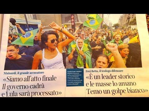 Brasil nas manchetes dos jornais italianos | Impeachment |