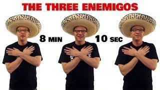 the three enemigos spanish verbs ser estar and ir