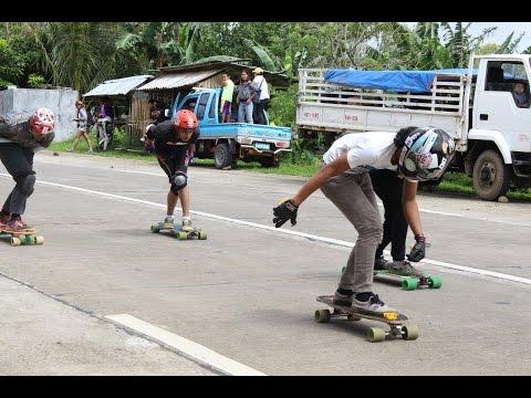 Longboarding Downhill Race - Don Salvador - Philippines RAW Vlog