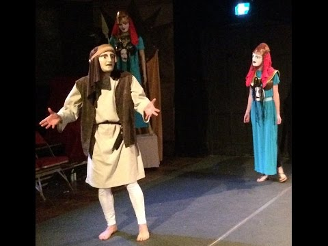 Aeschylus' Eumenides, translated by Michael Ewans, performed by Vervain Mask Theatre