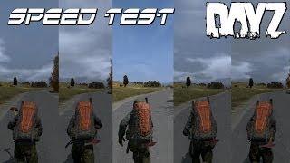 DayZ Standalone - Speed Test