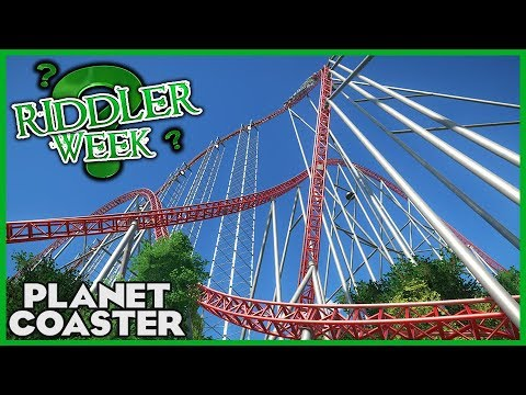 ADRENALINE! Riddler Week Day 5! Coaster Spotlight 283 #PlanetCoaster