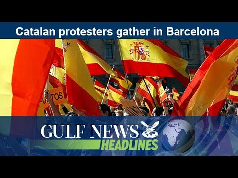 Catalan protesters gather in Barcelona - GN Headlines