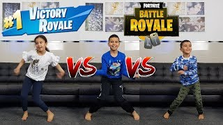 FORTNITE DANCE CHALLENGE! - (In Real Life) #RomaysaBros