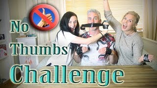 Irish People Try The No Thumbs Challenge