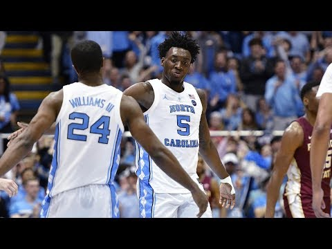 UNC Men's Basketball: Tar Heels Run By #16 Florida State, 77-59