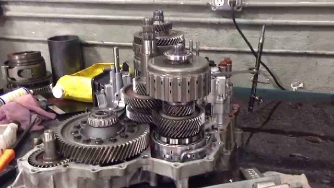 acura mdx transmission rebuild bdka youtube