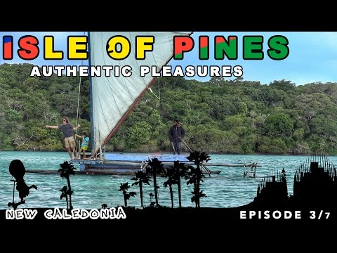 Adventures on the Isle of pines in New Caledonia  [family adventure travel series]