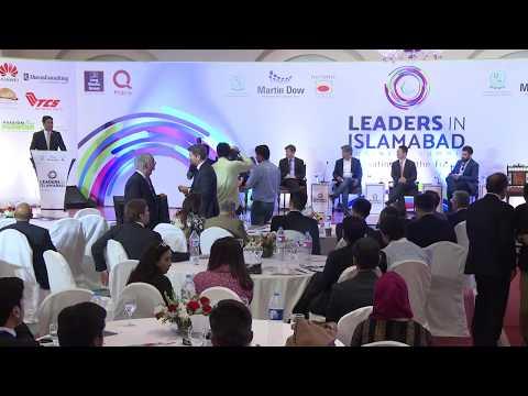 Talk by Telenor Pakistan's CEO Irfan Wahab Khan @ LEADERS IN ISLAMABAD