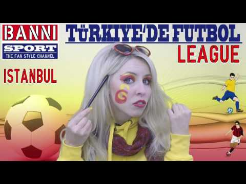 "FACEBOOK Trailer Türkiye'de Futbol ""Galatasaray İstanbul"" Champions Sport Fan Style Make-up League"
