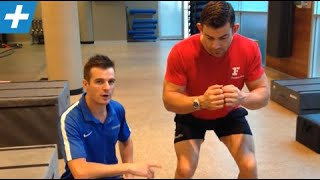 acl recon 6 months knee rotation on box jumps   feat tim keeley   no 49   physio rehab