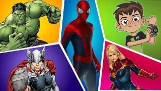 Justice League Finger Family | Ben 10 | Finger Family Fun House | Dame Tu Cosita